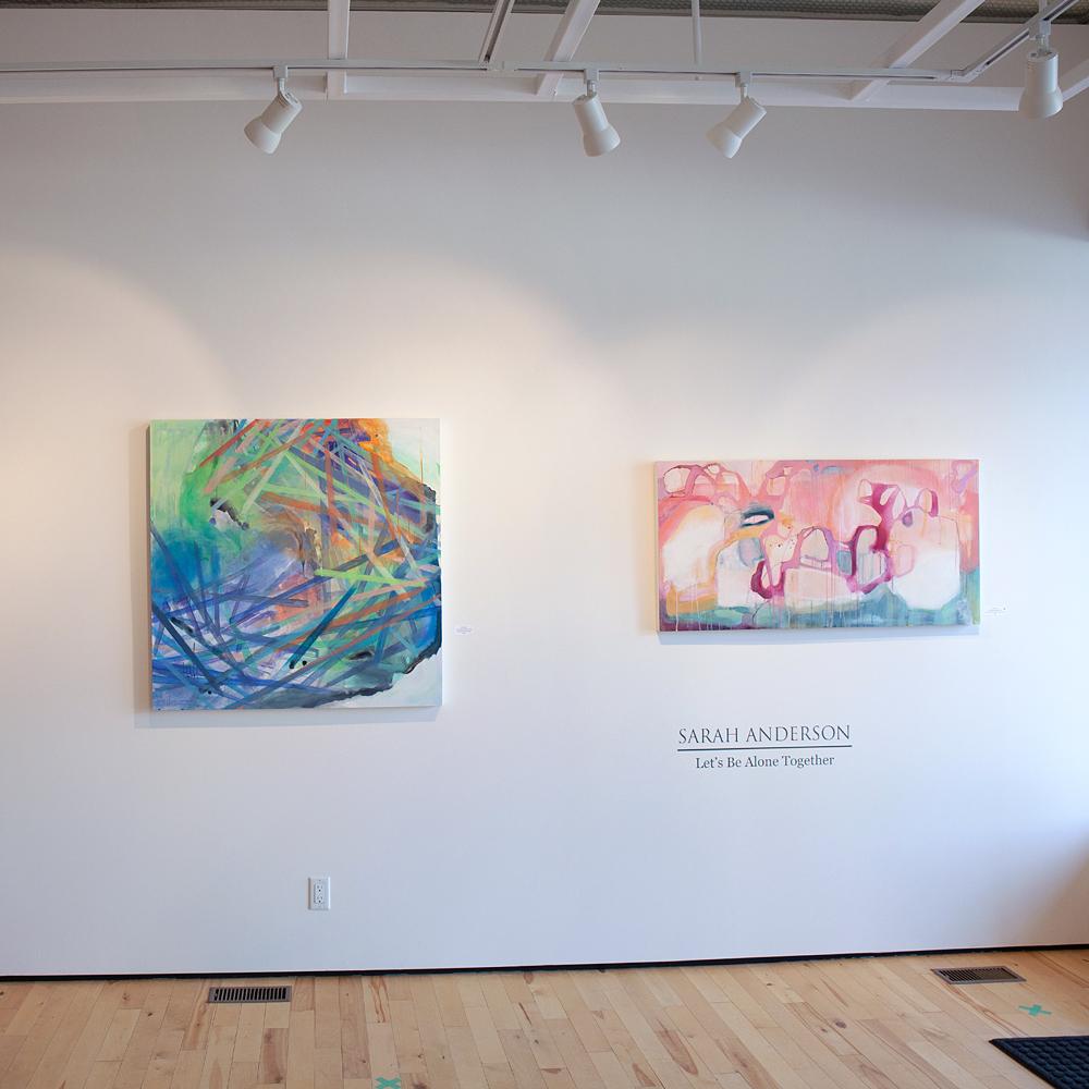 Sarah Anderson at Sivarulrasa Gallery