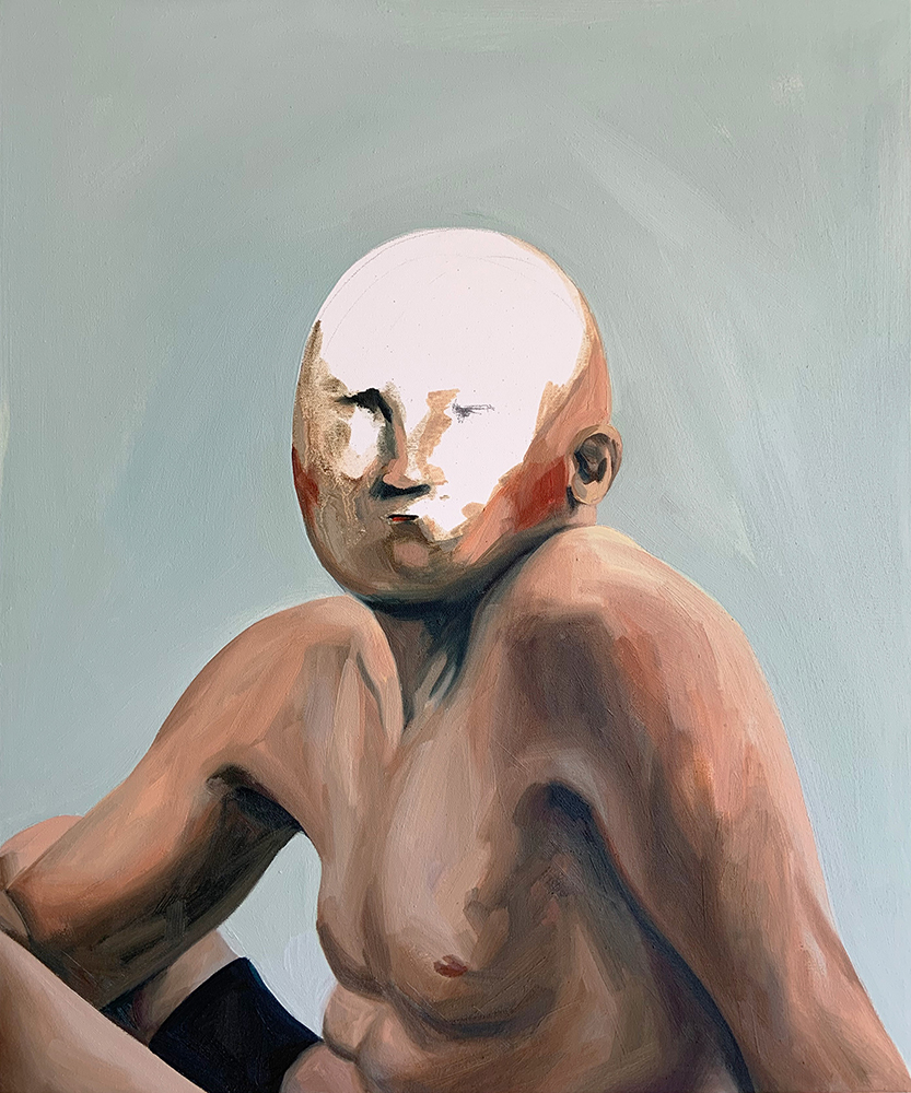 Paintings by Gizem Candan at Sivarulrasa Gallery