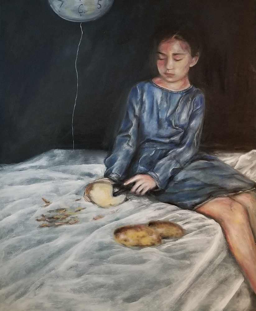 Paintings by Jihane Mossalim at Sivarulrasa Gallery