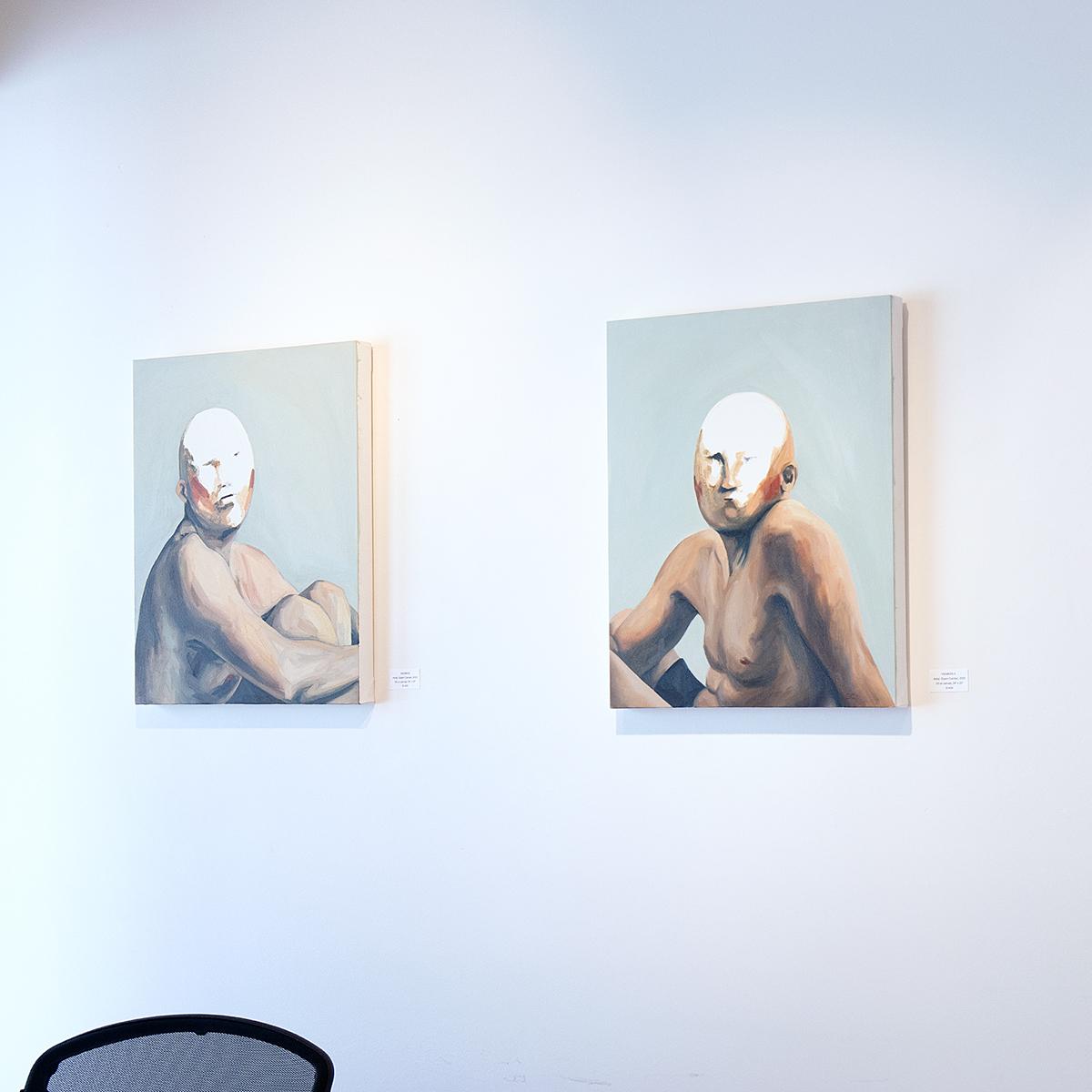 Gizem Candan and Jihane Mossalim at Sivarulrasa Gallery