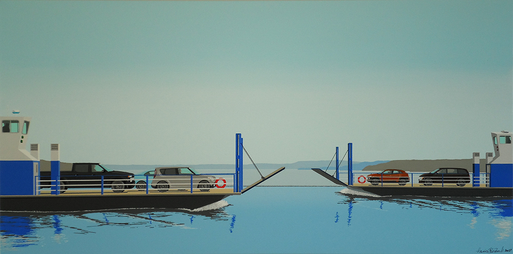 Works by Louis Thériault at Sivarulrasa Gallery